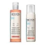 REVLON professional Набор:Шампунь д/волос  укрепл., витамин. S Up  250мл.+мусс д/блеска и объема 150 мл - купить, цена со скидкой