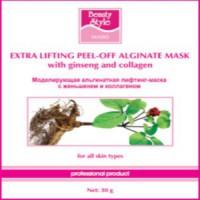 Beauty Style  Моделирующая (альгинатная) лифтинг-маска с экстрактом женьшеня и коллагеном 30 гр*10 шт - купить, цена со скидкой
