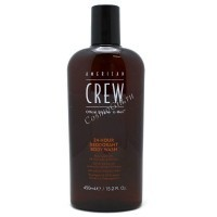 American crew 24-hour deodorant body wash (Гель для душа, для ежедневного использования), 450 мл. - купить, цена со скидкой
