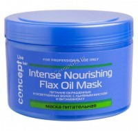 Concept Intense nourishing mask with flax oil (����� ����������� � ������� ������ ��� ���������� � ����������� �����), 500 �� - ������, ���� �� �������