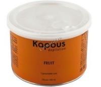 Kapous  Жирорастворимый воск с ароматом банана в банке, 400 мл. - купить, цена со скидкой