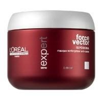 L'Oreal Professionnel Маска Форс Вектор укрепляющая против ломкости волос Force Vector Loreal 500 мл. - купить, цена со скидкой