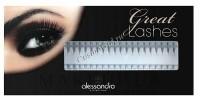 Alessandro Single eyelashes (Искусственные ресницы, отдельные черные на планшетке, полный изгиб), 90 шт - купить, цена со скидкой