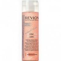 Revlon Professionals interactives shine up shampoo (Шампунь для волос укрепляющий, витаминизирующий) - купить, цена со скидкой