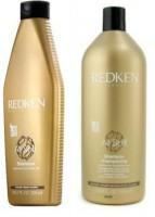 Смягчающий шампунь Redken для сухих и поврежденных волос 300мл - купить, цена со скидкой