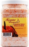 Keyano Aromatics Pumpkin Spice Mineral Bath (Соль для ванны «Пряная тыква»), 1.9л. - купить, цена со скидкой