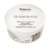 Kapous  Водный воск нормальной фиксации «Elaborate», 100 мл. - купить, цена со скидкой