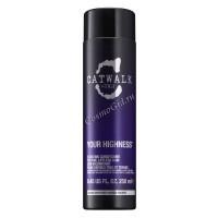 Tigi Catwalk Your highness shampoo (Шампунь для придания объема волосам), 300 мл. - купить, цена со скидкой